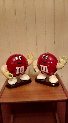 2 Large Red M&M's Sweet/Candy Dispensers • 5.99£