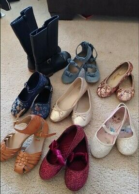 $ CDN22.78 • Buy Lot Of Girls Shoes Gap Brand And Other Brand Girls Shoes Sizes 1, 2 & 3