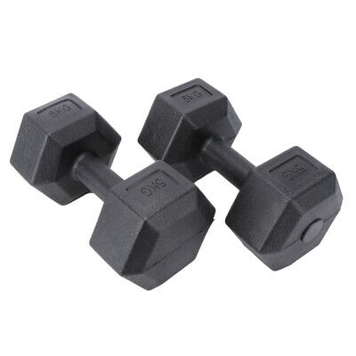 AU15.99 • Buy Premium Rubber Hex Dumbbell Pairs (Brand New) - Commercial Graded - Weight: KG