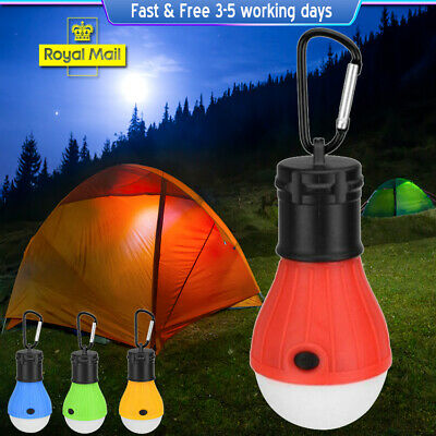 £10.99 • Buy LED Camping Lamp Portable Tent Light Camping Equipment Waterproof Work Lights