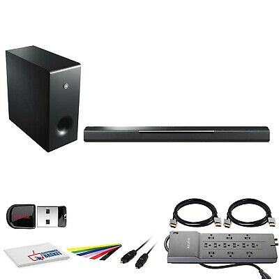 AU684.51 • Buy Yamaha MusicCast BAR 400 200W 3.1-Channel Soundbar System (YAS-408BL) +  12