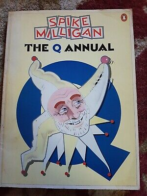Spike Milligan The Q Annual Published By Penguin Books 1980 • 4£
