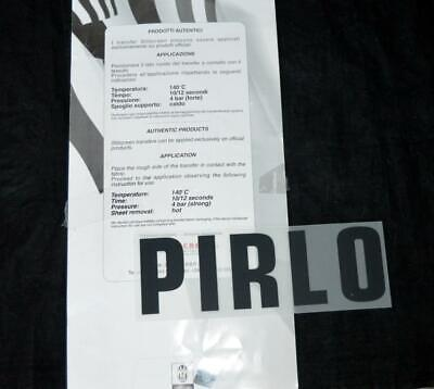£5 • Buy Official Juventus Pirlo 2012/13 Football Serie A Name Only Black