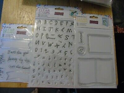 Roald Dahl Clear Stamps Card Making Frumptions/glummy/fantabulous • 3.99£