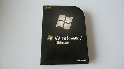Microsoft Windows 7 Ultimate UPGRADE 32/64-bit • 49.99£