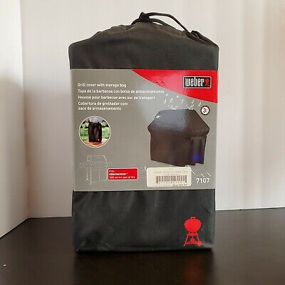 $ CDN89.89 • Buy Weber Grill Cover With Storage Bag 7107 Fits Genesis 300 Series Gas Grills
