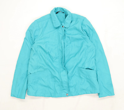 £10 • Buy Bonmarche Womens Size 8 Turquoise Soft Shell Jacket