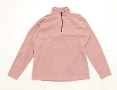 Craghoppers Womens Size 12 Pink Fleece Jacket • 10£