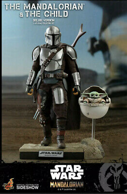 $ CDN388.01 • Buy Hot Toys Tms015 The Mandalorian And The Child Deluxe Star Wars Ready To Ship!