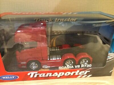 Scania R730 V8 (6x4) - Red, 1/32 Scale • 24.99£