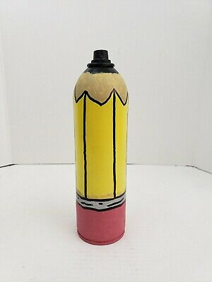 Graffiti Art Limited Edition Pencil Spray Paint Can By Nyc Street Artist PUKE  • 25.33£