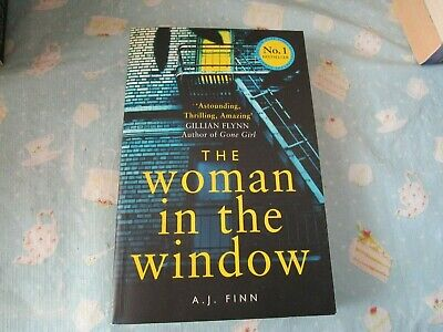 AU7 • Buy The Woman In The Window By A.J. Finn (trade Paperback)