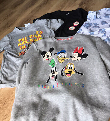 Primark Women Mickey Toy Story Disney  Sweatshirt T Shirt Stitch Incredibles XS • 6.99£