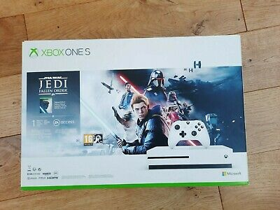 AU541.76 • Buy Microsoft Xbox One S 1TB Star Wars Jedi:Fallen Order Deluxe Edition Bundle New