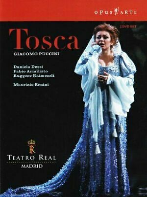 £10.95 • Buy Puccini: Tosca DVD 2 Disc Set Opera Teatro Real Madrid All Regions 0 W/ Booklet