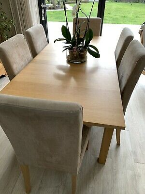 Ikea Bjursta Extendable Dining Table And Chairs • 23£