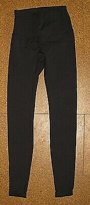 $ CDN26.01 • Buy Lululemon High Waist Black Stretch Athletic Leggings Pants Womens Size 4