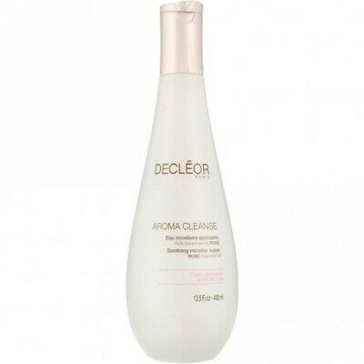 DECLEOR Aroma Cleanse SOOTHING MICELLAR WATER Supersize 400ml- RRP £35 • 10£