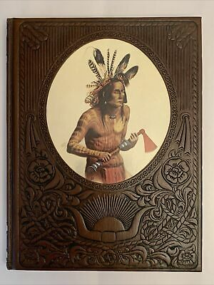The Indians Time Life Books The Old West Series Hardcover Textured Leatherette • 2.15£