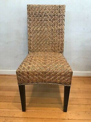 AU240 • Buy Rattan Dining Chairs X 8