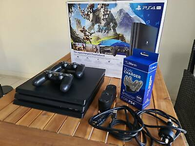 AU400 • Buy Playstation 4 Pro (PS4 Pro) 1TB, 2 Controllers, Dual Charger And Box