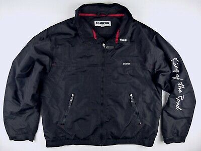 £45.85 • Buy C596 SCANIA Norway KING OF THE ROAD Windcheater Jacket Size XL, Excellent Cond!