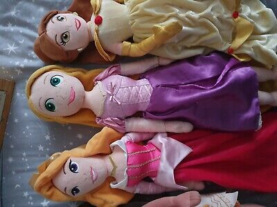 Disney Princess Soft Dolls Bundle • 10£