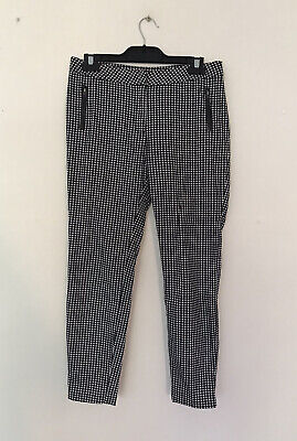 AU125 • Buy RARE As New Scanlan & Theodore Checkered Leather Crop PANTS RRP$399 SOLD OUT