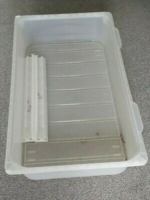 Ikea Wardrobe Plastic Drawer With Runners And Fixings • 4£