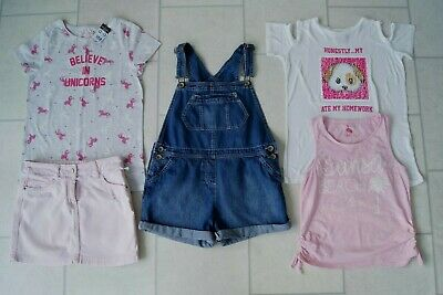 Girls Tops & Next Skirt & Dungarees Summer Bundle Age 12/13 Years  • 9.99£