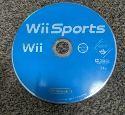 Wii SPORTS GAME 2006 NINTENDO GOOD CONDITION  DISC ONLY • 7£