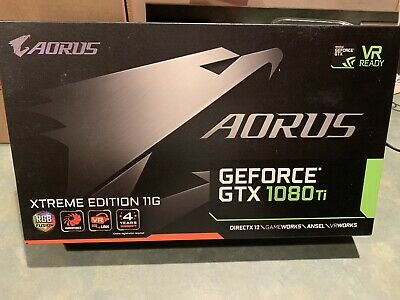 $ CDN833.12 • Buy Gigabyte AORUS GeForce GTX 1080 Ti Xtreme Edition 11G