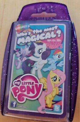 Collect 5 Who's The Most Magical My Little Pony Top Trumps Cards In Plastic Case • 2.99£