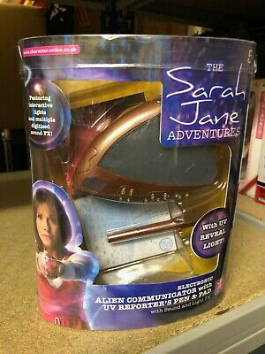 DOCTOR WHO Boxed SARAH JANE ADVENTURES Alien Communicator CHARACTER 2006 COSPLAY • 24.99£