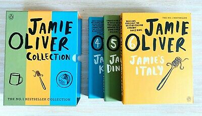 AU39.95 • Buy Jamie Oliver Collection Books 4,5,6 (Kitchen, Dinners, Italy) In Slipcase AS NEW
