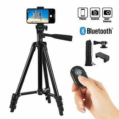 AU17.90 • Buy Professional Camera Tripod Stand Mount+Bluetooth Remote For IPhone Samsung