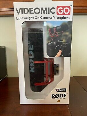 Rode VideoMic GO Lightweight On Camera Microphone • 42.93£