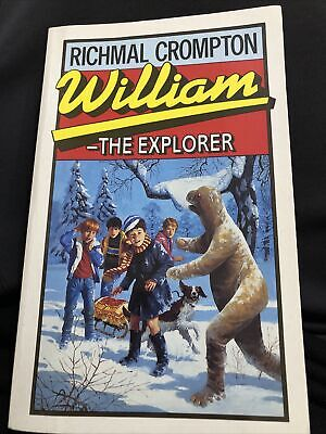 William The Explorer, Crompton, Richmal, Used; Good Book 1995 32nd Just William • 6£