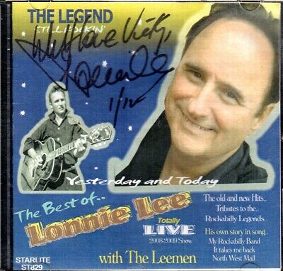 AU5 • Buy The Best Of Lonnie Lee, SIGNED