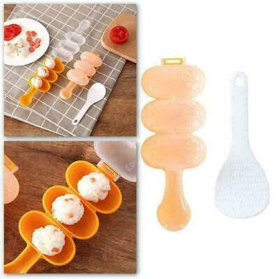 Rice Ball Mold Sushi Balls Maker Mould Spoon Kitchen Cooking P7I6 E9E7 Tool W6U8 • 1.75£