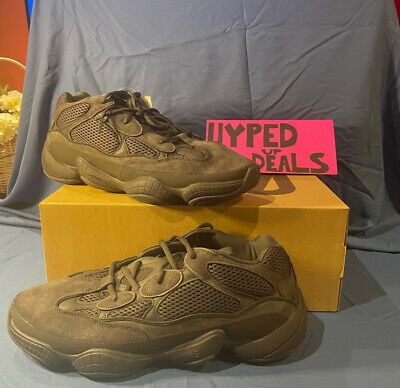 $ CDN359 • Buy New With Box And Tags Adidas Yeezy 500 Utility Black Size 14 Kanye West