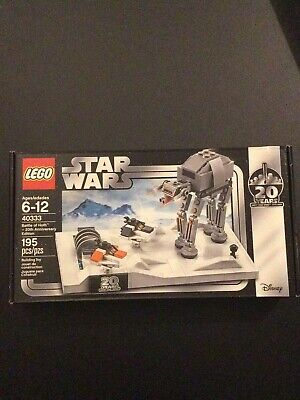 LEGO Star Wars Battle Of Hoth 20th Anniversary 40333 - Retired, New & Sealed • 27£