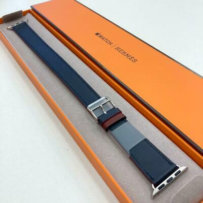 AU1548.27 • Buy Out Of Print Color Hermes Leather Band Apple Watch 38mm · 40mm Combined