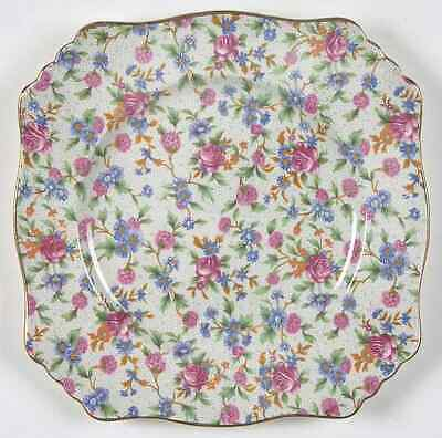 $ CDN52.86 • Buy Royal Winton Old Cottage Chintz  Square Luncheon Plate 641773