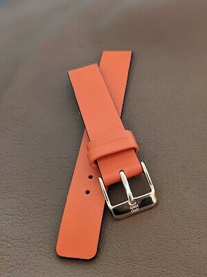 £7.49 • Buy Orla Kiely 16mm High-Quality Genuine Leather Replacement Watch Strap Gold Buckle