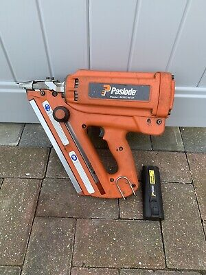 PASLODE IM350/90 CT CORDLESS FIRST FIX GAS NAIL GUN And Battery • 180£