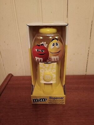 M&M's Yellow Sweet/Candy Dispenser New • 7.99£