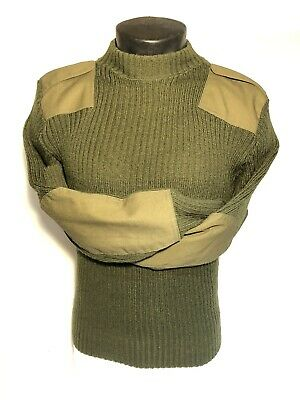 $39.95 • Buy Usmc Men's 36 Wooly Pully Service Dress B C Us Military Wool Sweater Od Green