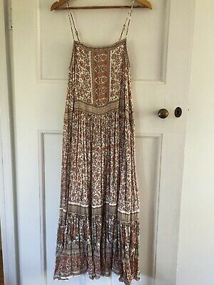 AU163.50 • Buy Spell And The Gypsy Collective ~ Jasmine Strappy Dress Sz S