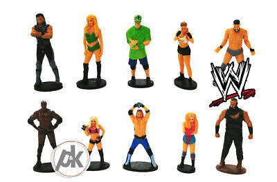 £11.98 • Buy WWE Cake Toppers - Party Decorations - 10 Children Disney Figures